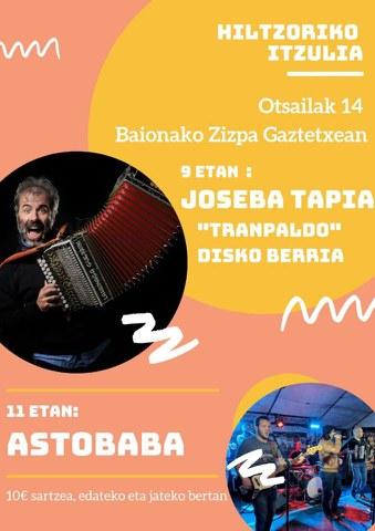 Joseba Tapia & Astobaba