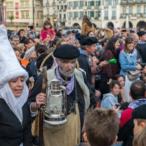 Journée de l'Olentzero à Bayonne