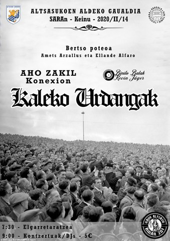Kaleko Urdangak + Aho Zakil Konexion