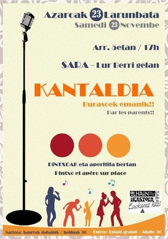 Kantaldi à Sare