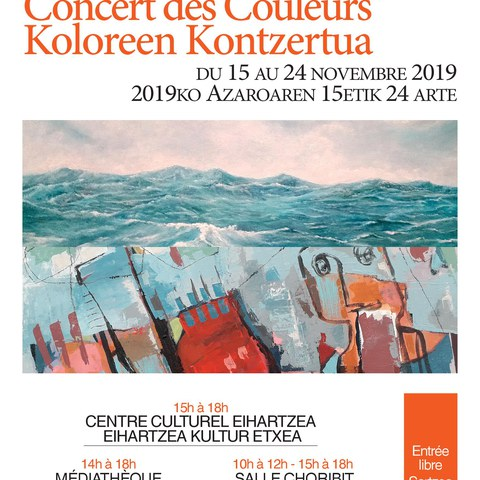 Koloreen Kontzertua / Concert des couleurs