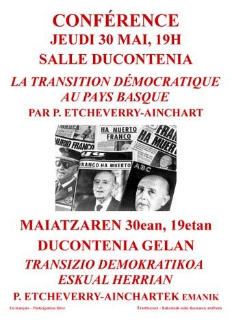 La transition démocratique au Pays Basque