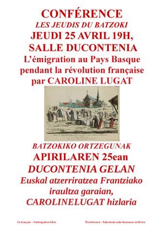 L'émigration au Pays Basque pendant la Révolution Française
