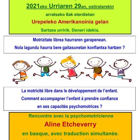 La motricité libre dans le développement de l'enfant