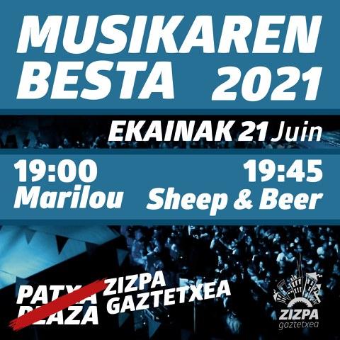La fête de la musique à Zizpa