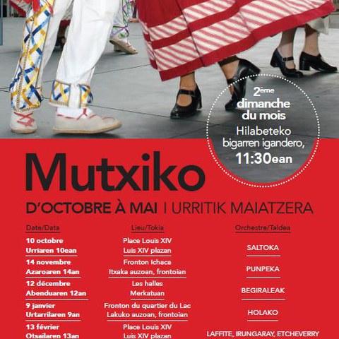 Mutxiko à Saint-Jean-de-Luz