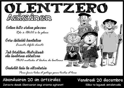 Olentzero à Ascain