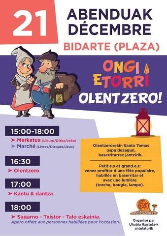 Olentzero à Bidart