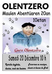 Olentzero à Mauléon