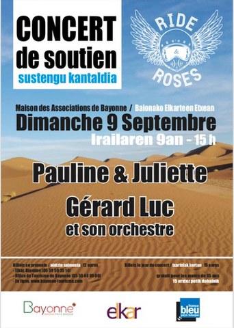 Pauline & Juliette + Gérard Luc et son orchestre