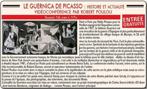 """Robert Poulou : """"Gernika de Pablo Picasso"""""""