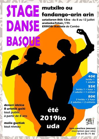 Stage danse basque