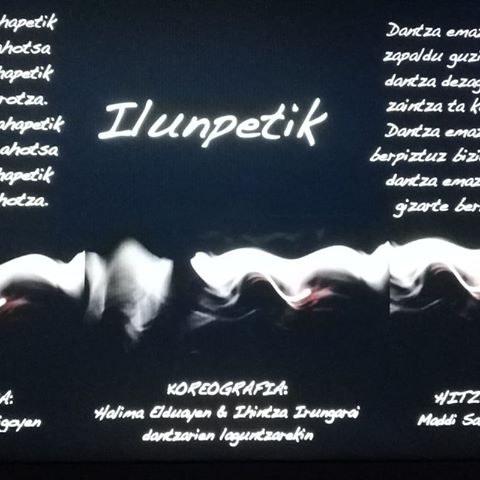 """Stage de danse """"Ilunpetik"""""""
