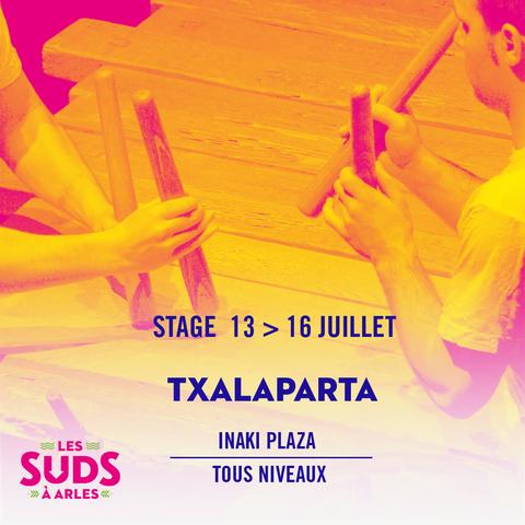 Stage Txalaparta