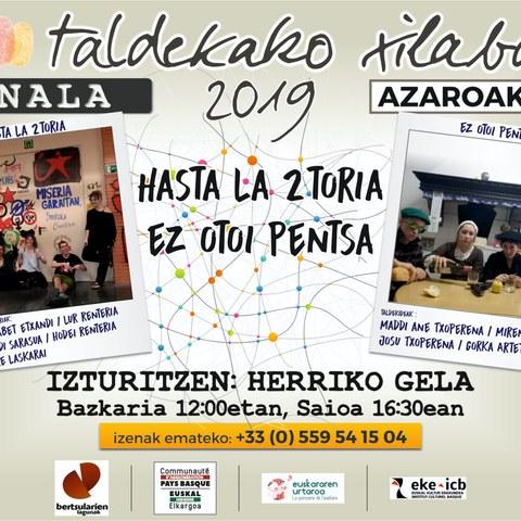 Taldekako Xilaba 2019 - Finale