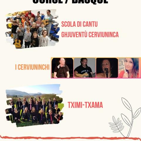 Tximi-Txama + Scola Di Cantu Ghjubentù Cerviuninca + I Cerviuninchi