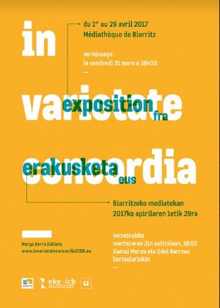 "Vernissage de l'exposition ""In Varietate Concordia"""
