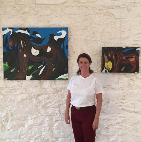 """Visite de l'exposition """"Egak"""" avec Anne Broitman"""