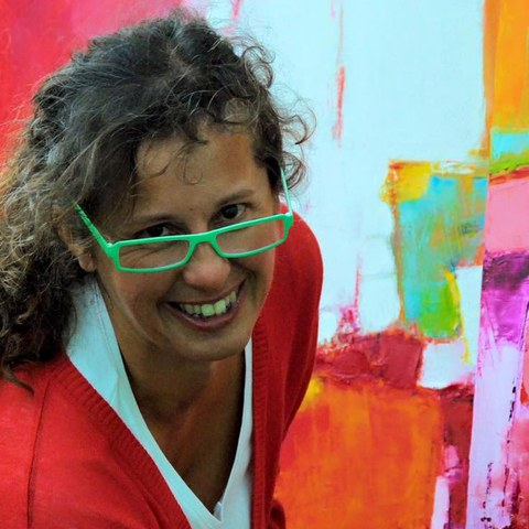 """Visite de l'exposition """"Egak"""" avec Marythe Avella"""