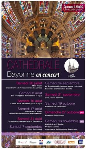 Xaramela et l'orchestre de l'Harmonie Bayonnaise