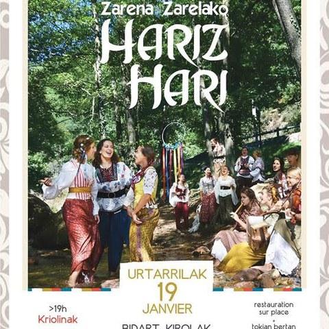 """Zarena zarelako """"Hariz hari"""" + Kriolinak"""