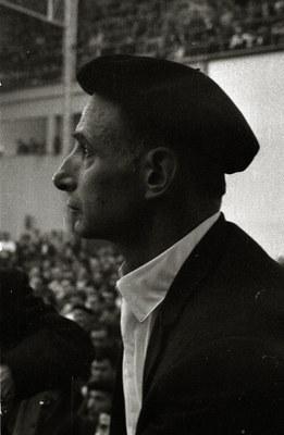 Xalbador. Championnat de bertsularis du Pays Basque. Saint- Sébastien,1967. (cc by-sa Fondo marin, Paco Mari)