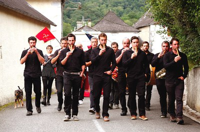 Musiciens de la pastorale Joanikot (2017) © Séverine Dabadie