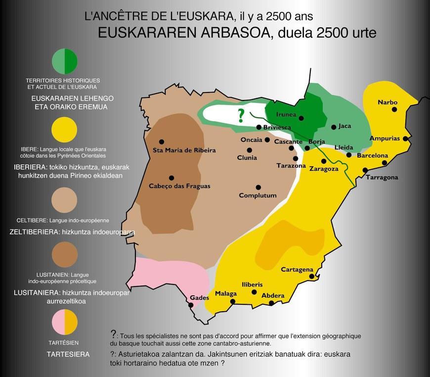 L'ancêtre de l'euskara il y a 2500 ans © Euskararen hatsa, le souffle de la langue basque - Institut culturel basque