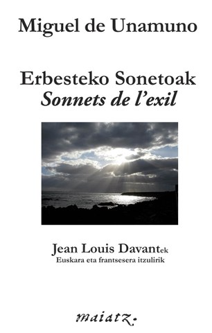 "Erbesteko Sonetoak - ""Sonnets de l'exil"""