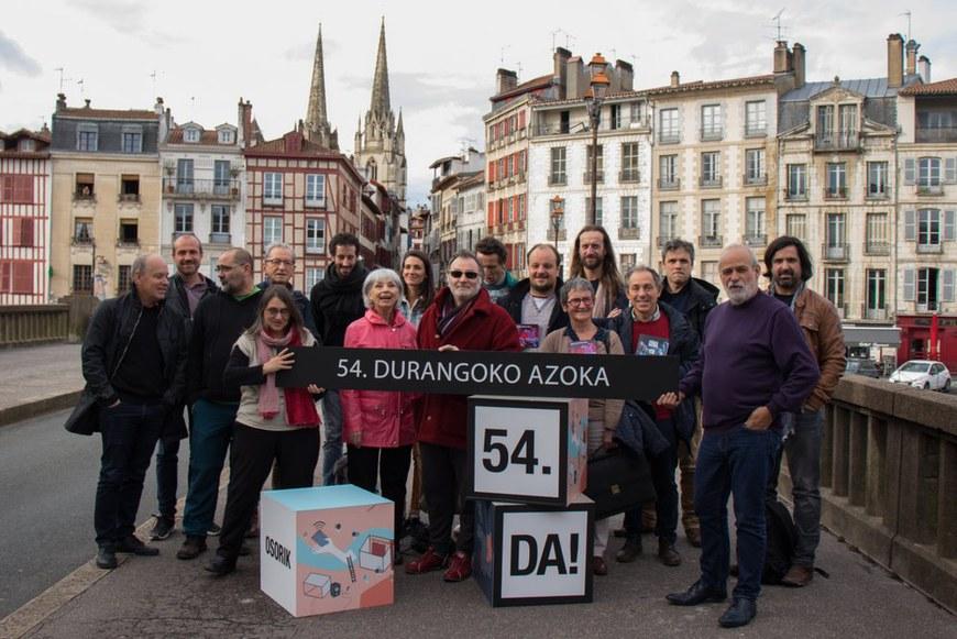 Les représentant(e)s des structures du Pays Basque nord qui seront présentes au Salon de Durango 2019 | Photo : Maitane Hernandez - ICB