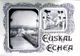 Carte de l'Euskal Echea de Buenos Aires, 1931, coll. part