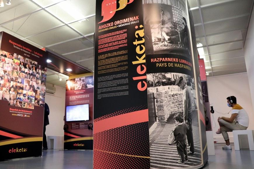 L'exposition telle que présentée à Hasparren © ICB