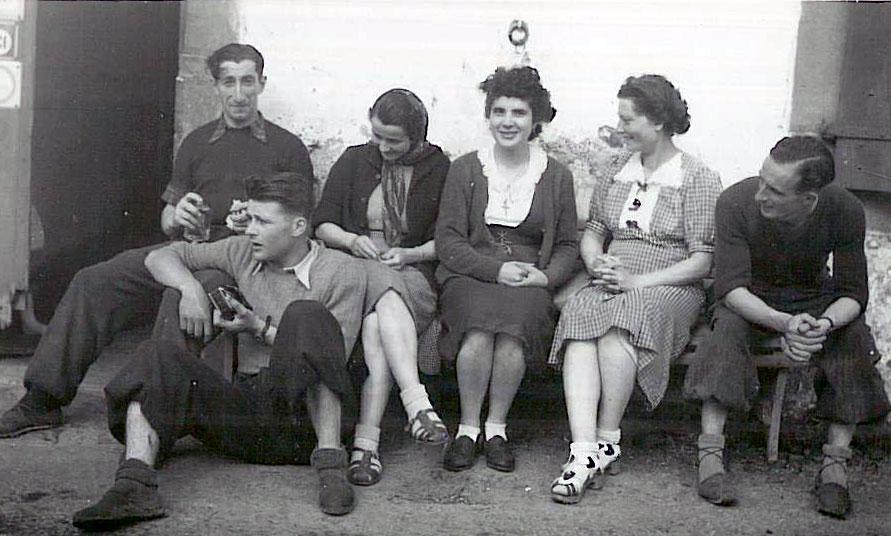 Les relations entre jeunes hommes et jeunes filles — Institut culturel basque