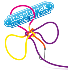 "Logo de l'expo ""Itsasturiak"" © Guénolé Le Gal"