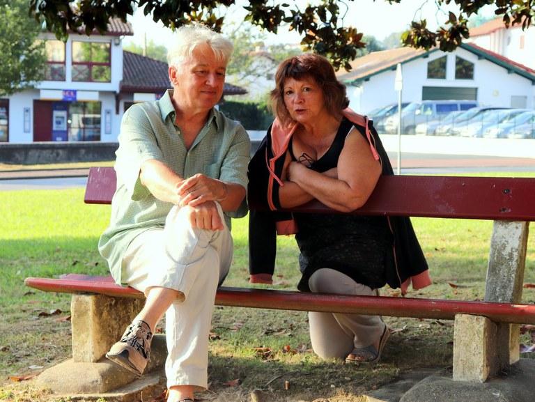 Koldo Amestoy & Michèle Bouhet © ICB