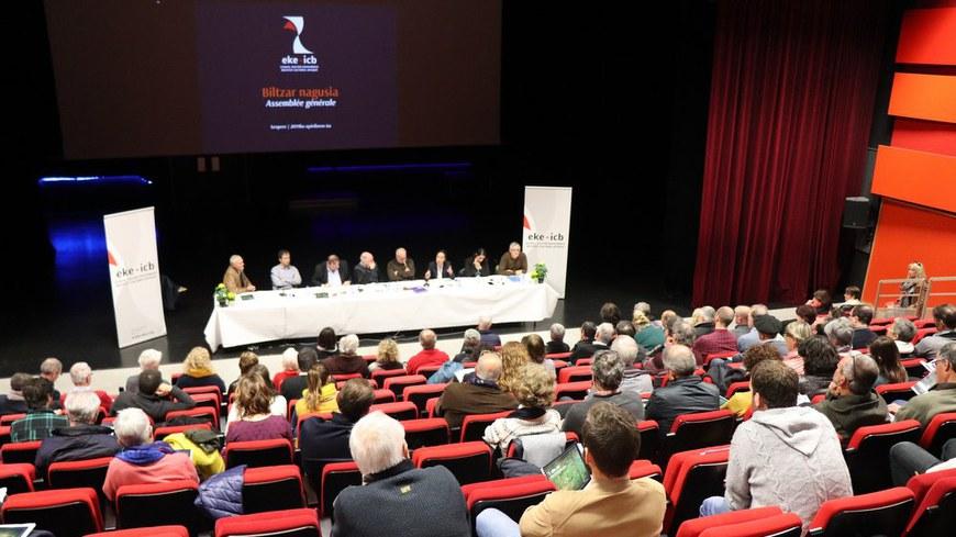 Assemblée générale 2019 de l'ICB à Saint-Pée-sur-Nivelle © ICB
