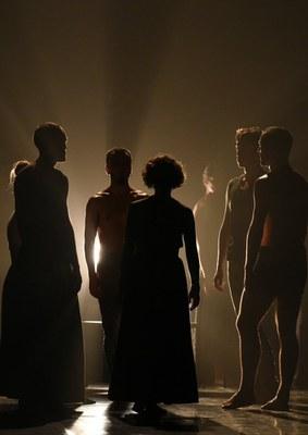 La compagnie de danse Kukai à Biarritz (2018) © Olivier Houeix