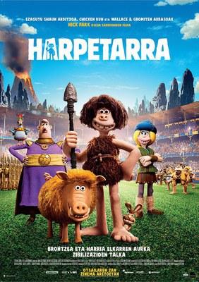 Affiche du film Harpetarra - Zineskola 2018
