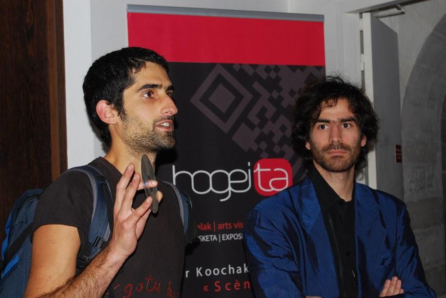 Bertrand Dezoteux et Nader Koochaki