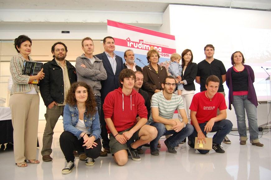 Irudimena 2012 - Organisateurs et lauréats