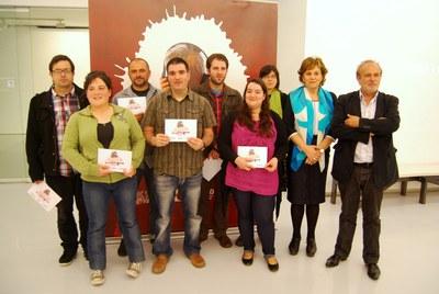 Les lauréats à Bilbao le 8 juin 2013