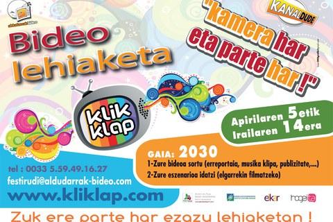 Concours vidéo Kliklap