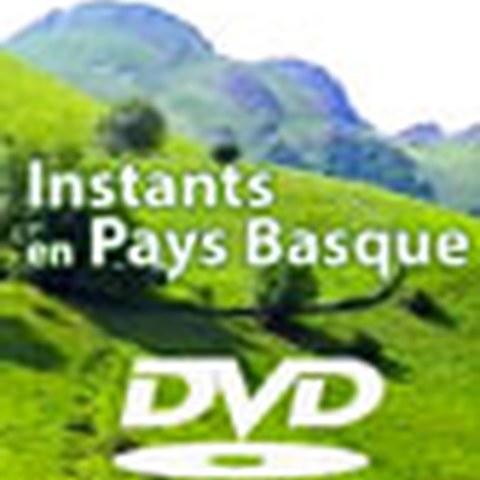 Le DVD Instants en Pays Basque disponible en quatre langues
