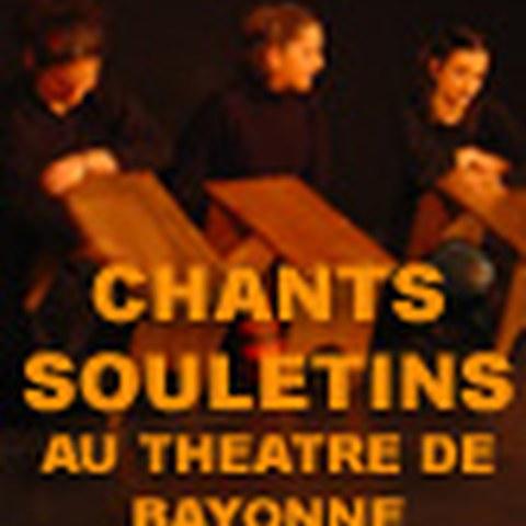 Chants souletins au théâtre de Bayonne