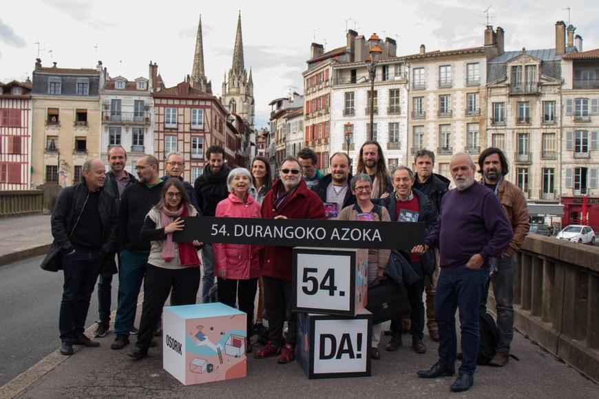 Les représentant(e)s des structures du Pays Basque nord qui seront présentes au Salon de Durango 2019 © Maitane Hernandez (ICB)