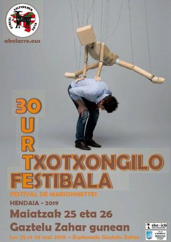 30ème festival de marionnettes à Hendaye