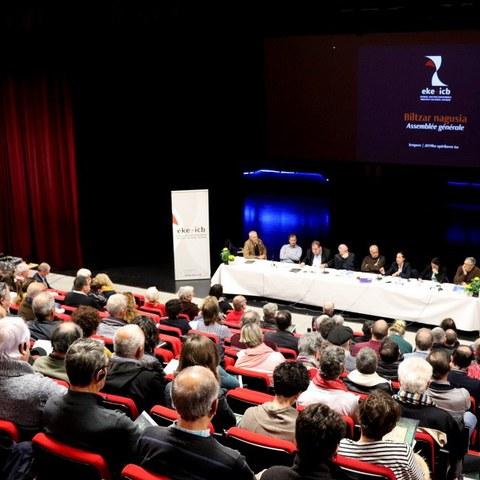 Assemblée générale ordinaire et extraordinaire 2019 de l'Institut culturel basque