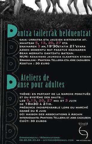Ateliers de danse pour adultes à Ascain