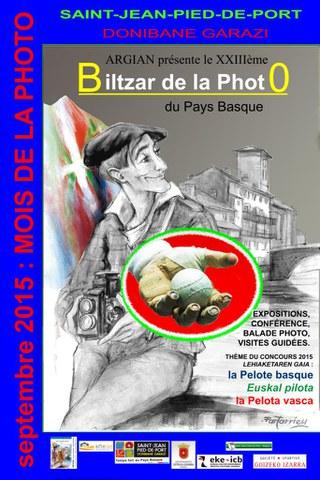 Biltzar de la Photo 2015 à Saint-Jean-Pied-de-Port