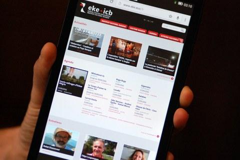 Comment améliorer le site eke.eus ?